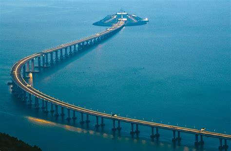hong kong macau bridge china to open the world s bridge connecting hong