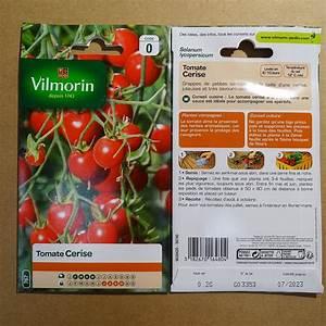 Planter Graine Tomate : tomate cerise graines potag res vilmorin ~ Dallasstarsshop.com Idées de Décoration