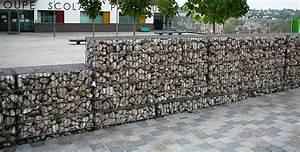 Mur En Gabion : mur de cloture gabions ~ Premium-room.com Idées de Décoration