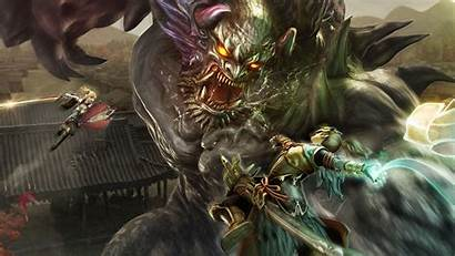 Toukiden Demon Japanese Wallpapers Oni Backgrounds Wallpaperaccess