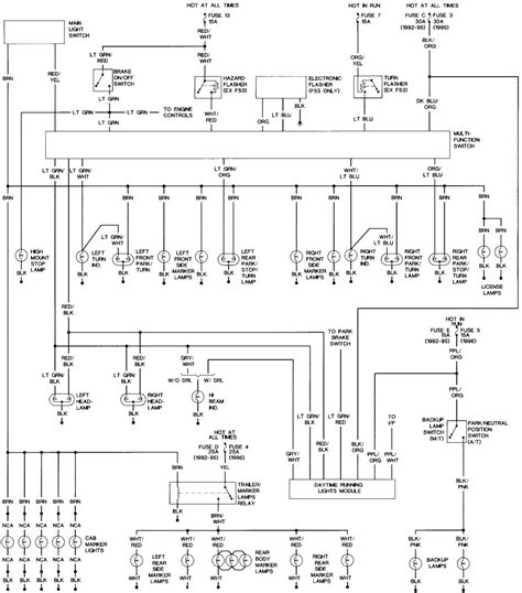 Headlight Switch Wiring Diagram Collection