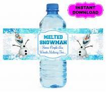 Frozen Water Bottle La...