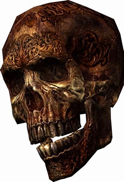 Skull Dragonborn Clipart Transparent Base Scrolls Wikia