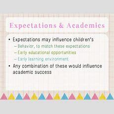 Emotion Knowledge, Teacher Expectation & Academic Achievement In Pres…
