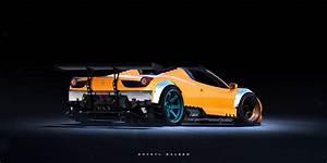 Ferraris, Lamborghinis and McLarens Rendered as