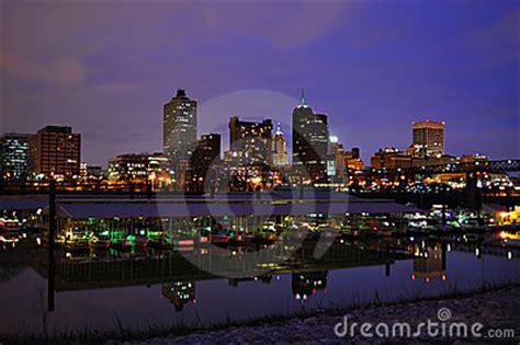 memphis cityscape stock photography image