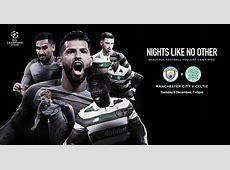 Win tickets for Man City vs Celtic in the Champions League