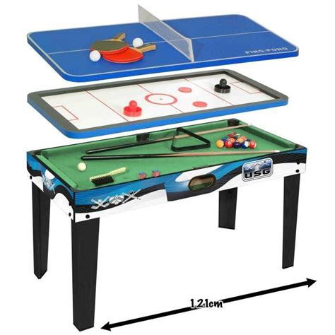 Usg Table Multijeux 3 En 1  Achat  Vente Table Multi