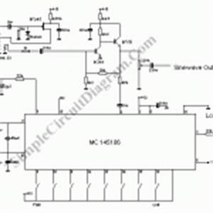 pll oscillator simple circuit diagram With pll oscillator