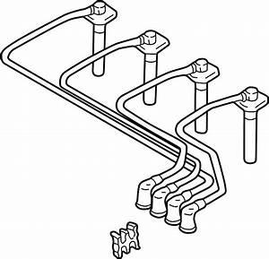 Mazda Protege Spark Plug Wire Set  1 8 Liter  Protege  1