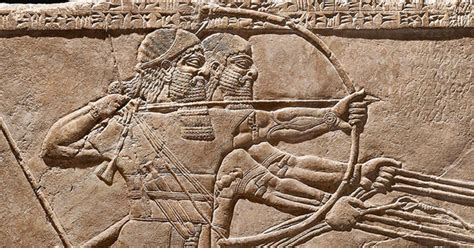 exhibition  assyria palace art  ancient iraq getty