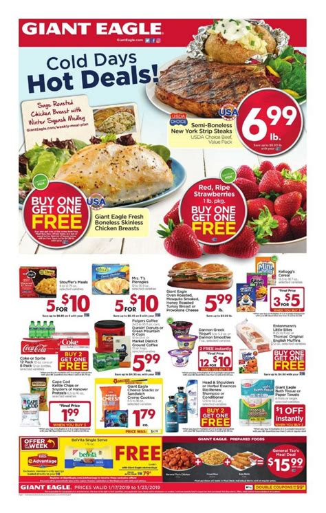 giant eagle weekly ad flyer january