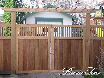 fence arbor fence  garage doorwill cover