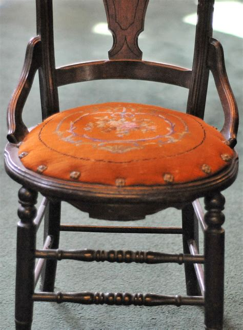 antique seat chair replacement cushion ebay