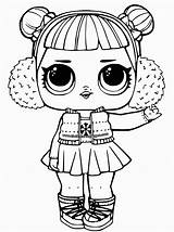 Coloring Lol Pages Doll Dolls Popular Surprise sketch template