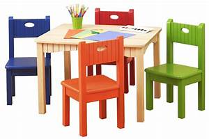 Get perfect range kids table and chairs with extra