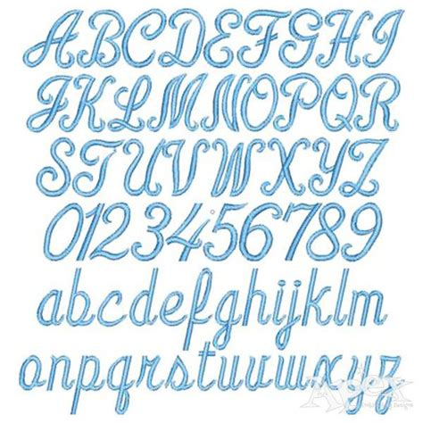 linus script embroidery fonts embroidery fonts fonts alphabet machine embroidery applique