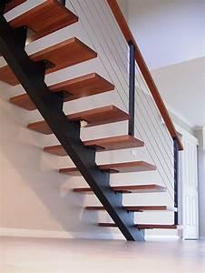 Steel Single Stringer Staircase