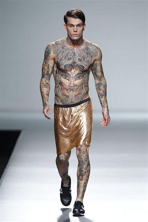 stephen for carlos d 237 ez ss14 tattooed pierced