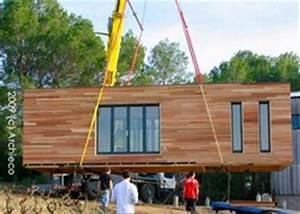 Maison Préfabriquée En Bois : dhomino maison d 39 architecte en bois basse conso ~ Premium-room.com Idées de Décoration