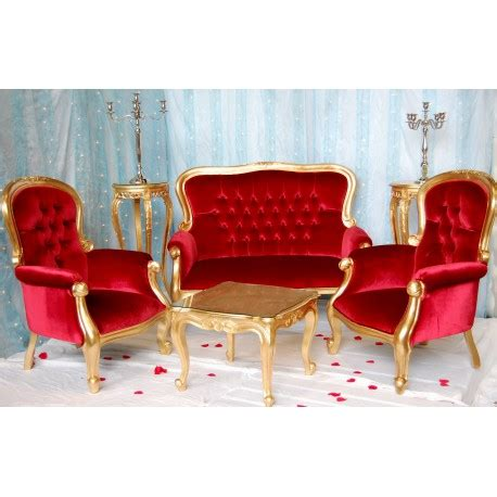 location canapé mariage location fauteuil mariage baroque