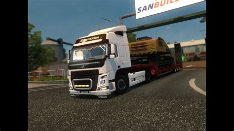 volvo fm euro truck simulator  youtube