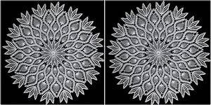 How to Crochet Pineapple Doily Star [Free Written Pattern