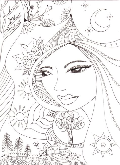 coloring free free coloring pages for adults