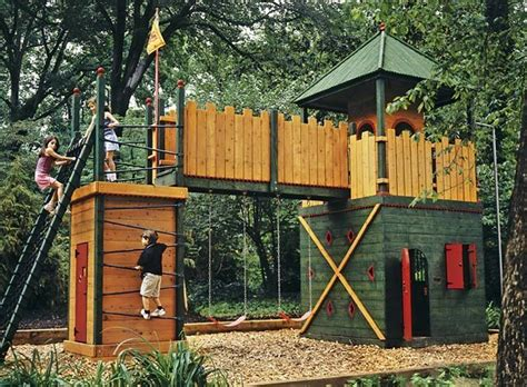 Backyard Playground Ideas by 20 Of The Coolest Backyard Designs With Playgrounds