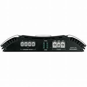 Jbl Gto3501 Mono Car Subwoofer Amplifier