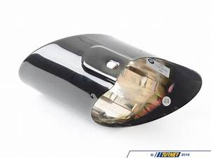 18307534962 - Genuine Bmw Exhaust Tip - Black Chrome