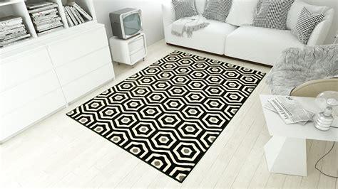 carrelage design 187 tapis blanc et noir moderne design