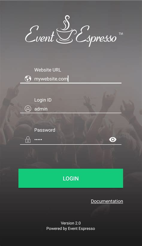 login app for android event app updates for android and apple devices