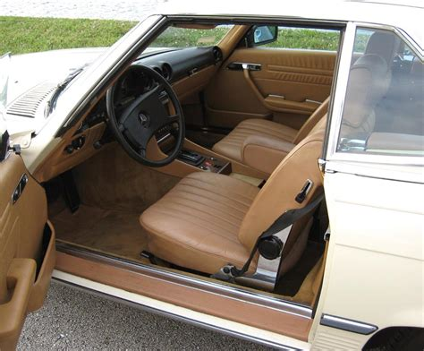 The wood trim has a couple small cracks but still shows very well. 1983 MERCEDES-BENZ 380SL ROADSTER - 64134