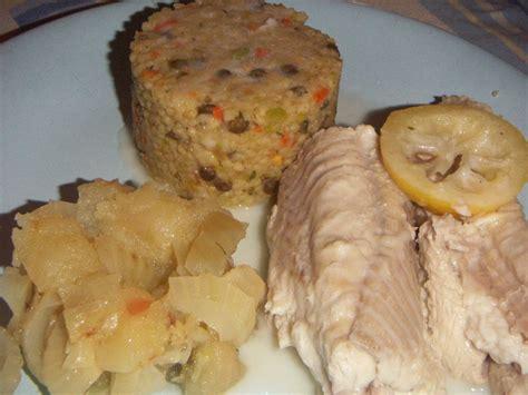 cuisiner saumonette saumonette fenouil pomme et céréales pour ceux qui