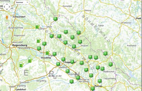 Ladestationen Fuer Elektroautos Interaktive Karte by E Wald Elektroauto Im Urlaub Fahren Emobil F 252 R Ferieng 228 Ste
