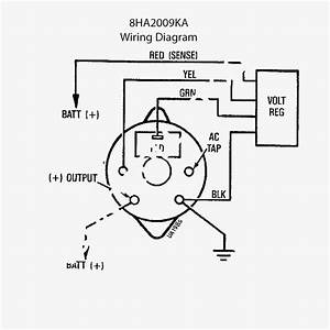 Three Wire Alternator Wiring Diagram