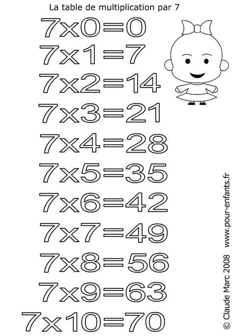 table 7 8 9 multiplication