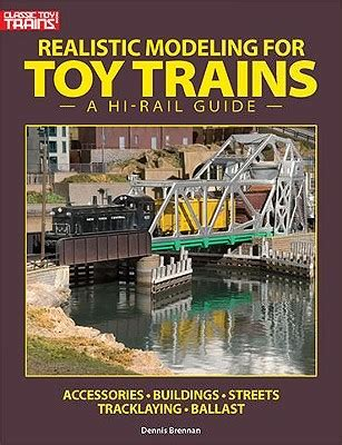 realistic modeling  toy trains   rail guide