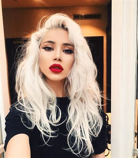 Platinum Hairstyle by And Creative Hairstyles For Hair Ideas