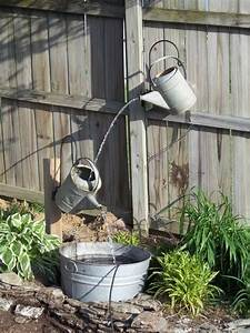 Ideas To Make Your Own Outdoor Water Fountains - TOP Cool DIY