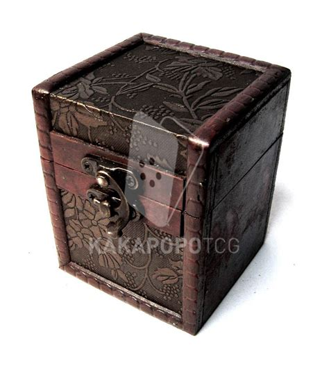 Wooden Deck Box Mtg by Wood Tcg Deck Box Mtg Yugioh Wow Protector Magic The