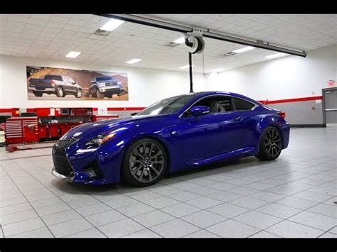 lowering  lexus rcf  bcracing coilovers youtube