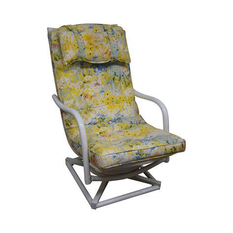 ficks reed lounge chair ficks reed vintage rattan swivel lounge chair chairish