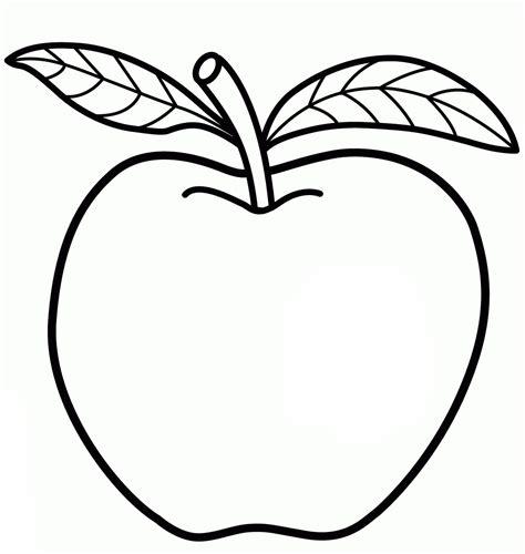 mewarnai gambar buah paud