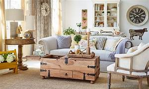Farmhouse Style Living Room Table — New Home Design