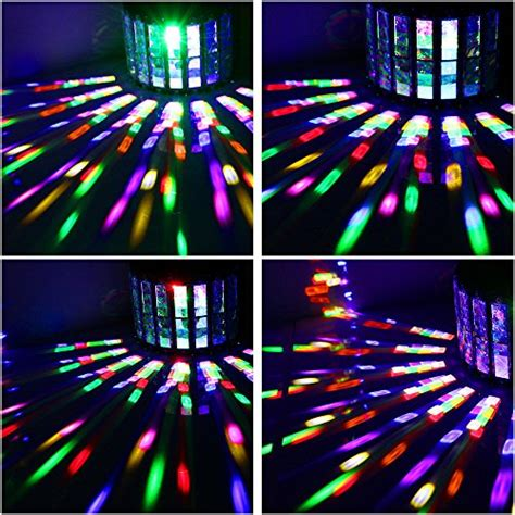 multi color strobe light laluce stage light with 27w 9 colors effect lighting by