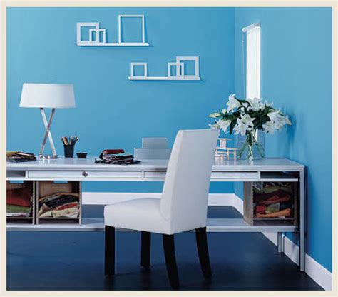colorfully behr home office color