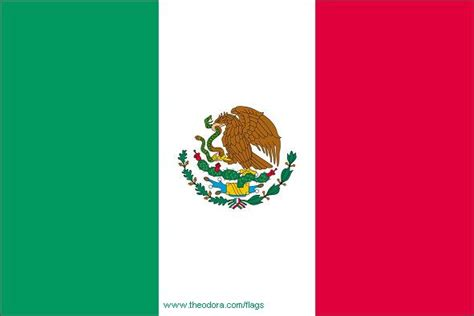 Flags of Mexico - geography; Mexican Flags, Mexico Map ...