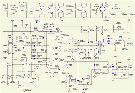 lcw toshiba lcd tv power supply schematic circuit